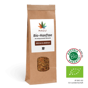 Organic-Hemptea - Leaves and flowers