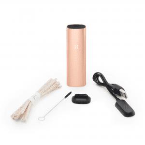 Pax 3 Vaporizer für Blüten und Konzentrat - Basic Kit in der Farbe matt roségold