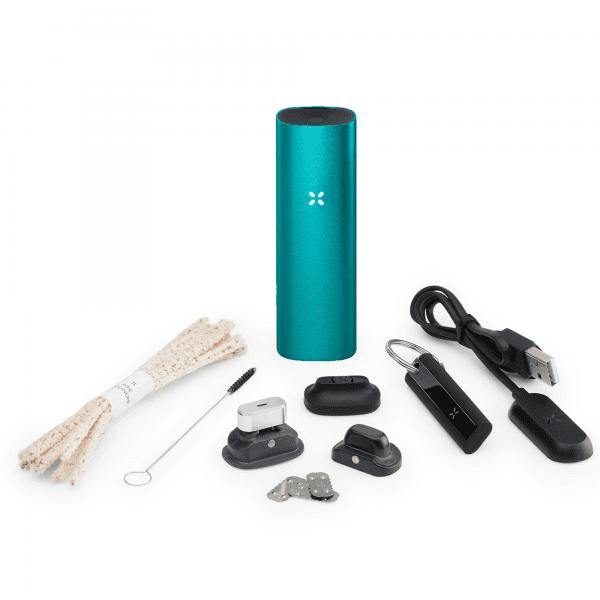 Pax 3 Vaporizer für Blüten und Konzentrat - Complete Kit in der Farbe matt teal