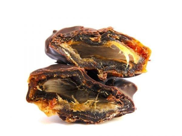 Sukkari-Dattel mit CBD-Schokolade