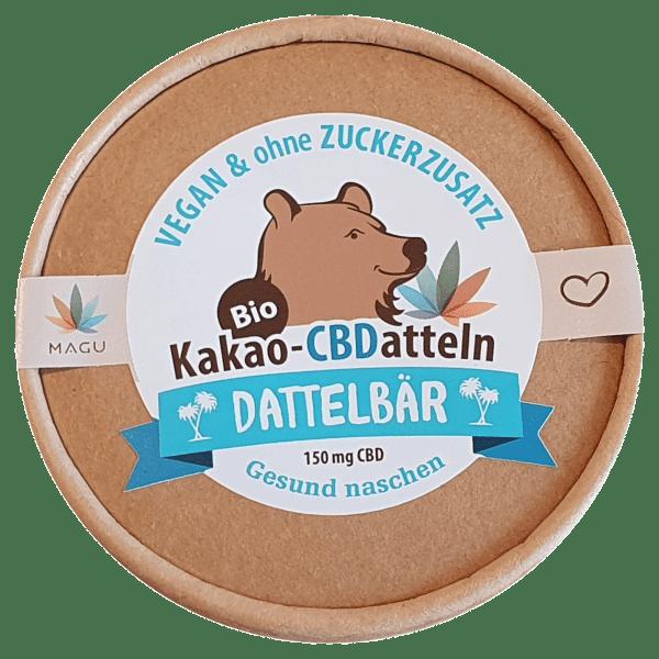 Kakao-CBDatteln in Kooperation mit Dattelbär, Zotter und Magu CBD