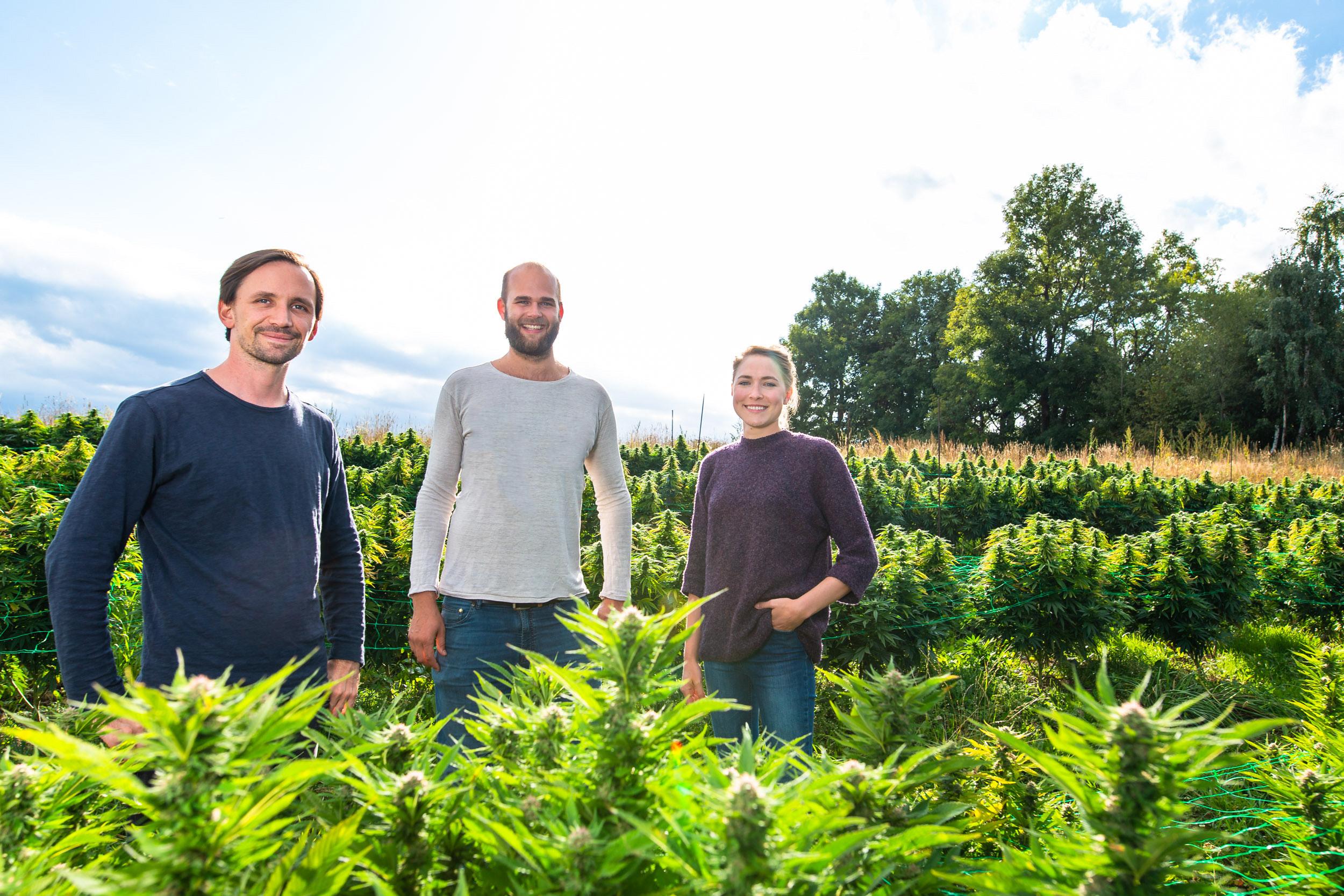 Die Gründer von MAGU im Outdoor Feld