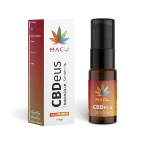 CBDeus Full Spectrum 5% Serum